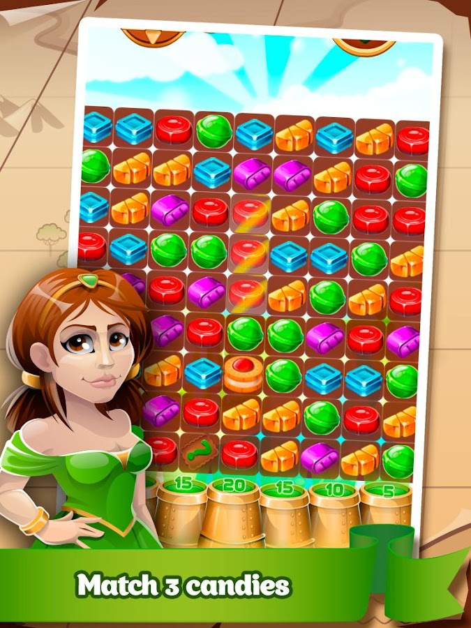 Sweet Kingdom - candy match 3 - screenshot