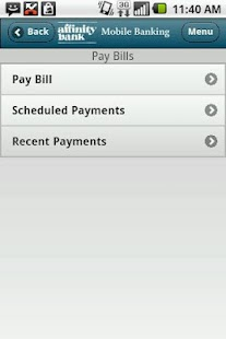 Affinity Bank Mobile Banking - screenshot thumbnail