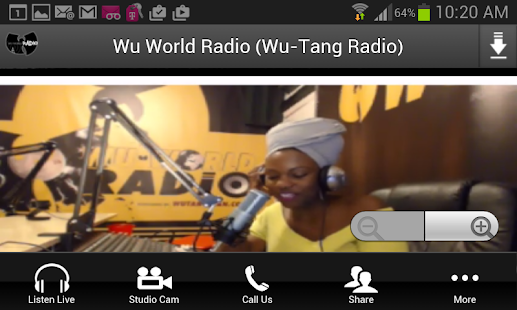 Wu World Radio (Wu-Tang Radio)- screenshot thumbnail