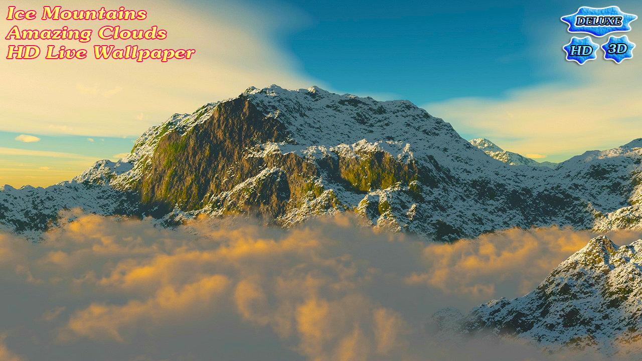 Ice Mountains Amazing Clouds- screenshot