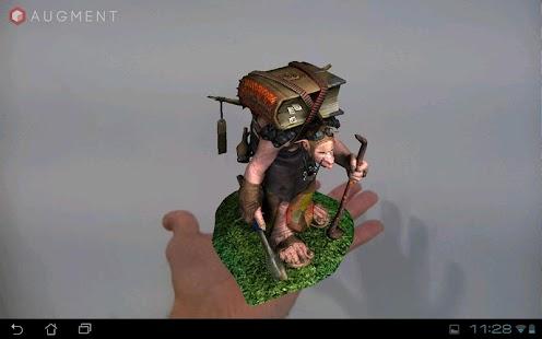 Augment - 3D Augmented Reality- screenshot thumbnail