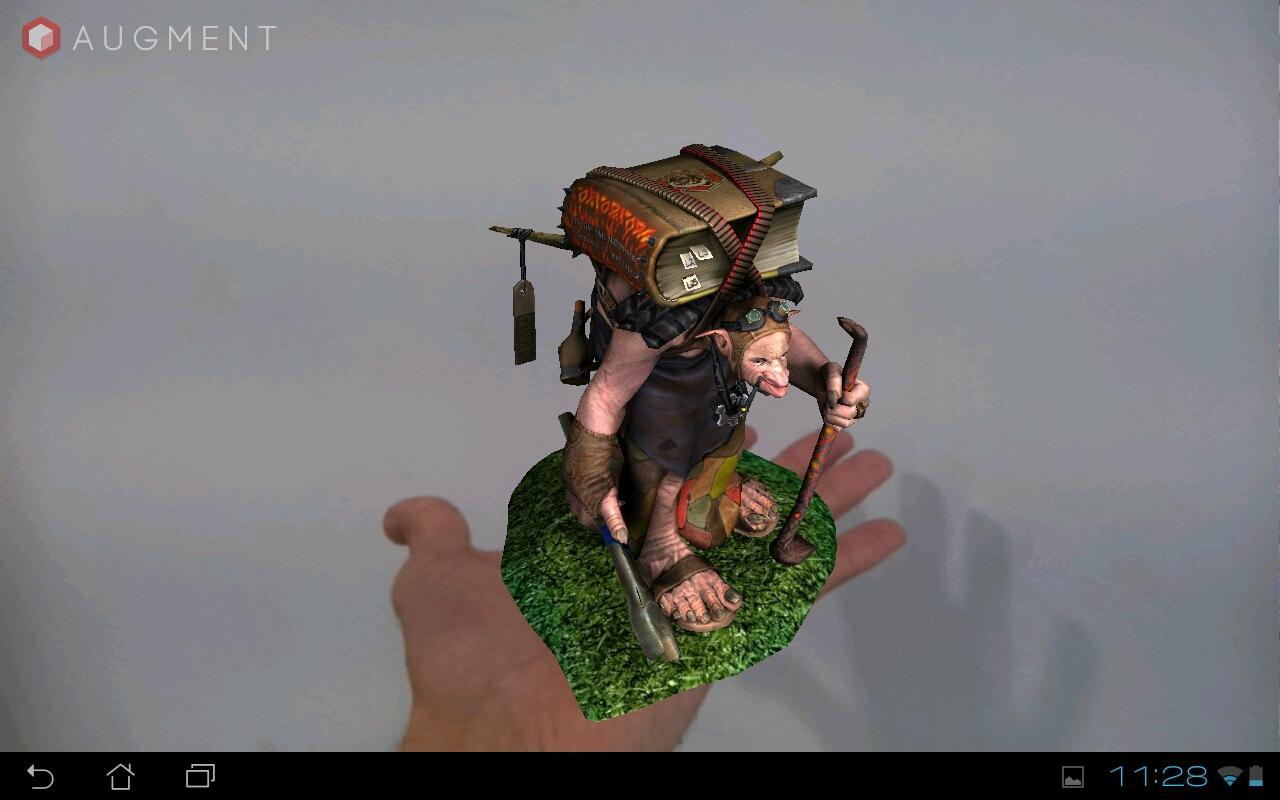 Augment - 3D Augmented Reality- screenshot