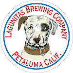 Logo of Lagunitas One Hitter Imperial Stout With Hazelnuts, Cocoa Nibs, & Brandy Soaked Vanilla Beans