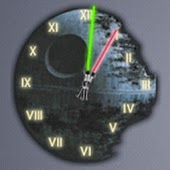 Death Star Clock Widget