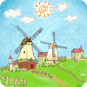 Cartoon Windmill LW FREE icon