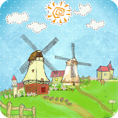 Cartoon Windmill LW FREE