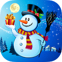 Christmas Color & Scratch for kids & toddlers ☃ icon