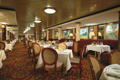 Norwegian-Dawn-LaCucina - Satisfy that craving for Italian cuisine at La Cucina, Norwegian Dawn's Italian restaurant serving casual family-style meals.