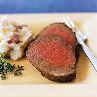 Roast Beef Tenderloin.