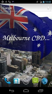 3D Australia Flag LWP - screenshot thumbnail