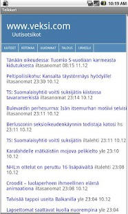 Urheilu-uutiset - screenshot thumbnail
