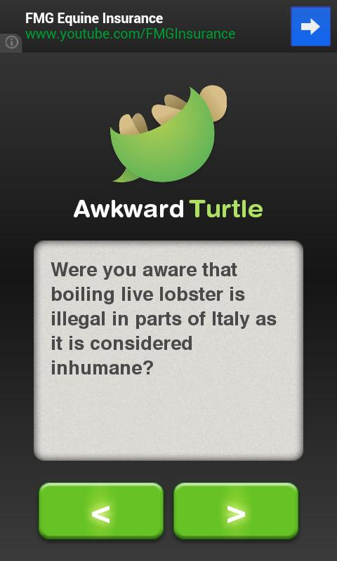 Awkward Turtle- screenshot