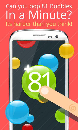 81 Bubbles: Numbers Game