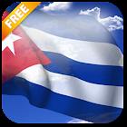 Bandera de Cuba 3D Live Wallpaper icon