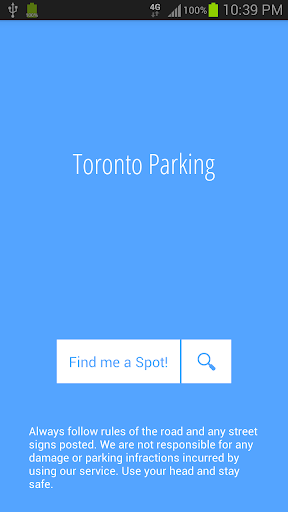 Toronto Parking Finder Lite
