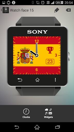 Watchface Spain Sony SW2