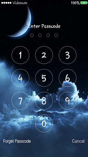 Night Sky Lockscreen