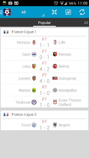 Francouzský fotbal - Ligue 1