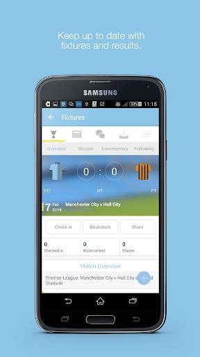 Fan App for Manchester City FC