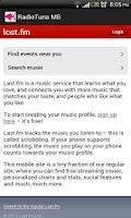Screenshot of Radiotuna - Grooveshark AIO MB