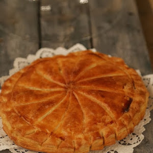 Almond and Lemon Express Pastry Galette