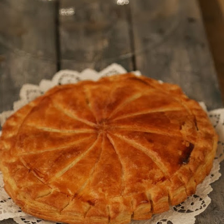 Almond and Lemon Express Pastry Galette Recipe