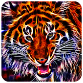 3D Tigers live wallpapers