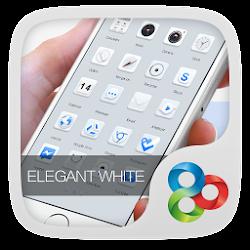 Elegant White GOLauncher Theme