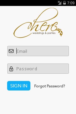 Chere Wedding MobileInvoicing