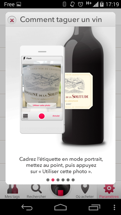 Tagawine- screenshot
