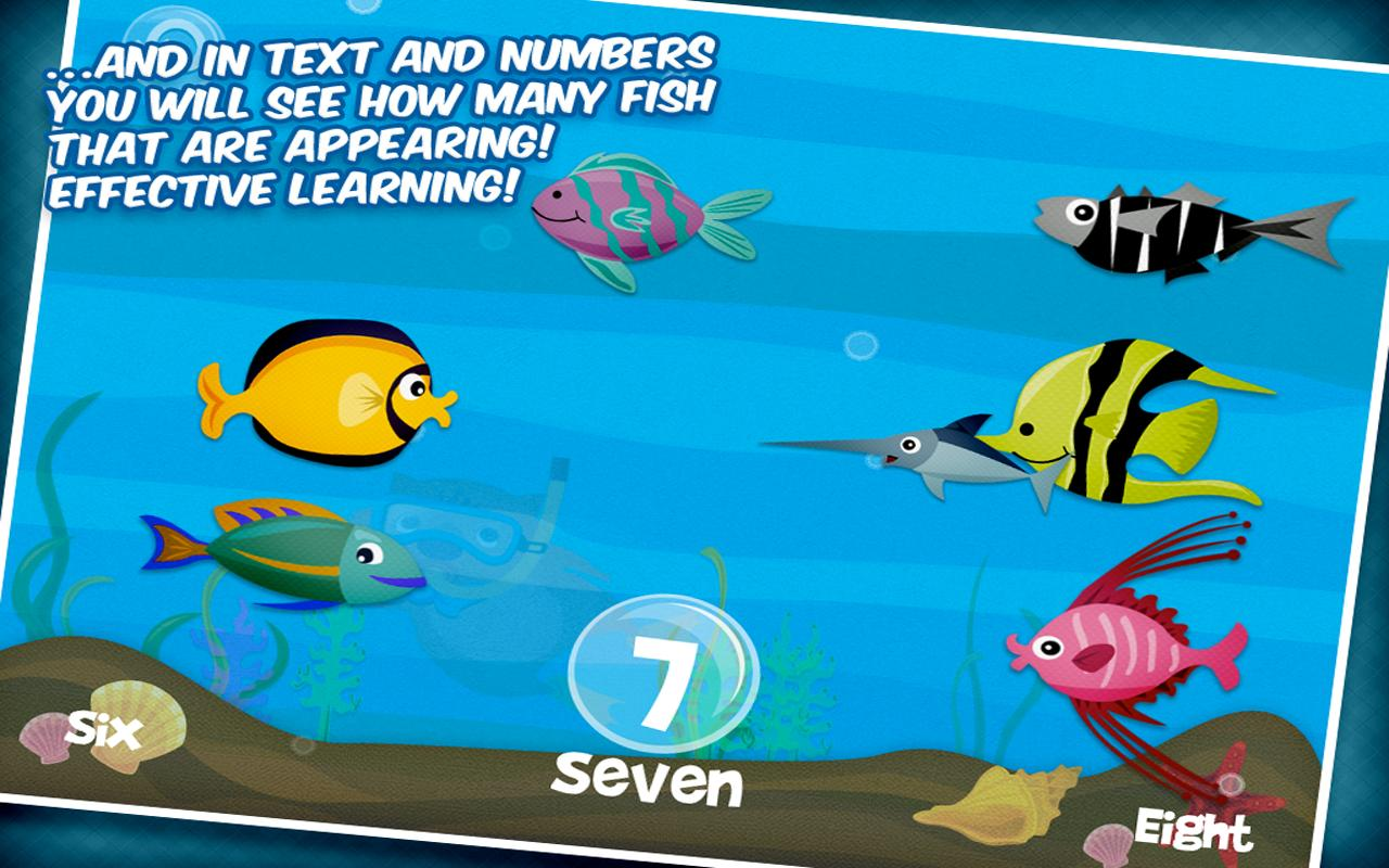 Learn to count with Wombi!- screenshot
