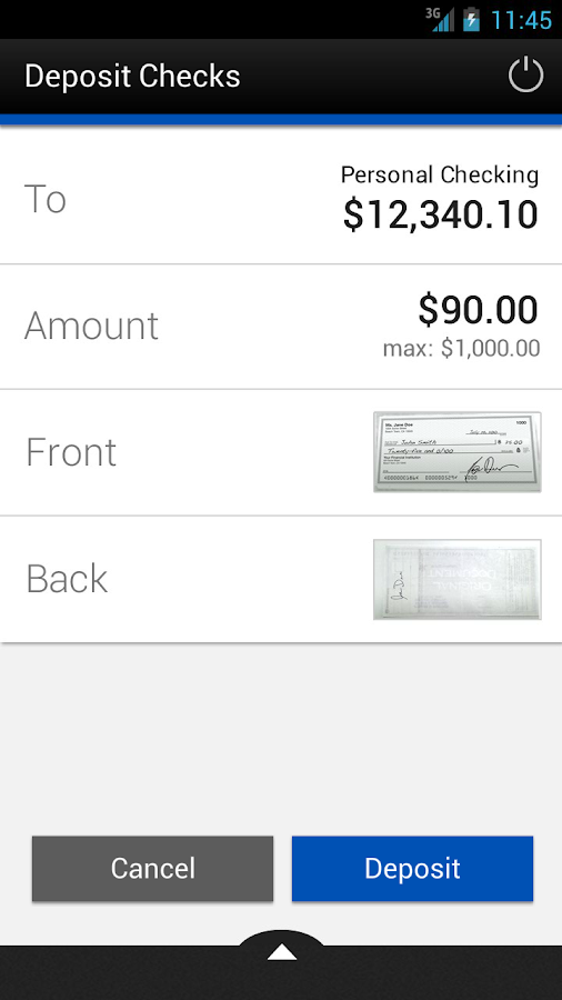 PriorityOne Mobile Banking - screenshot