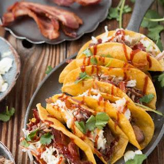 BBQ Pulled Pork Tacos.