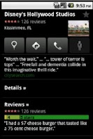 Screenshot of Orlando Holiday Guide GPS