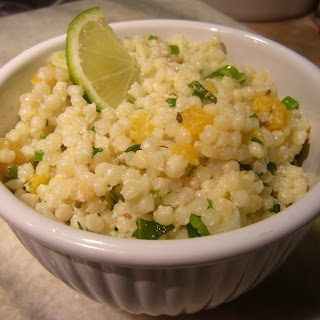 Herbed Couscous with Apricots.