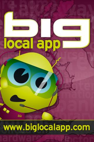 Big Local App - screenshot