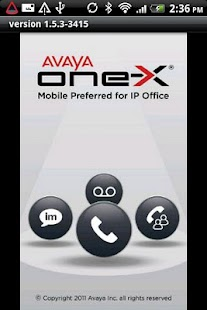 Avaya one-X® Mobile for IPO