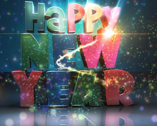 新年快樂動態壁紙