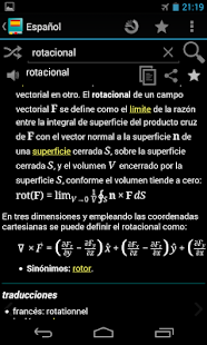 Spanish Dictionary - Offline - screenshot thumbnail