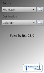 Delhi Metro Navigator- screenshot thumbnail