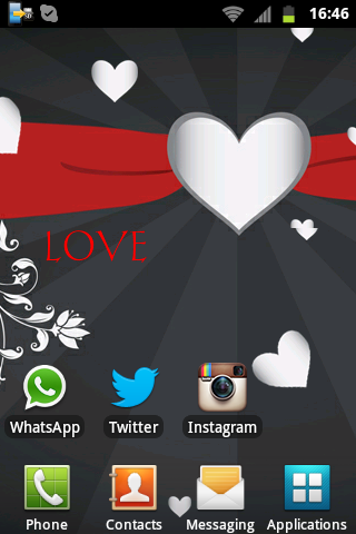 Beautiful Hearts LIVE Wallpape