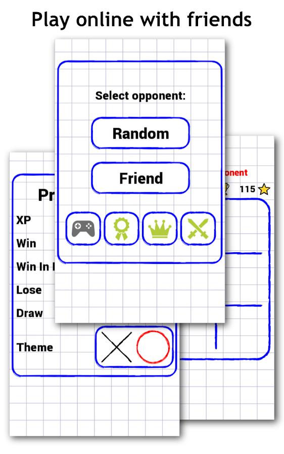Tic Tac Toe Duel (Online)- screenshot