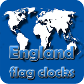 England flag clocks