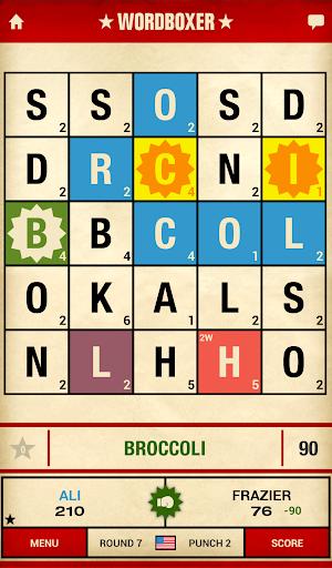 WordBoxer: Knockout Word Game