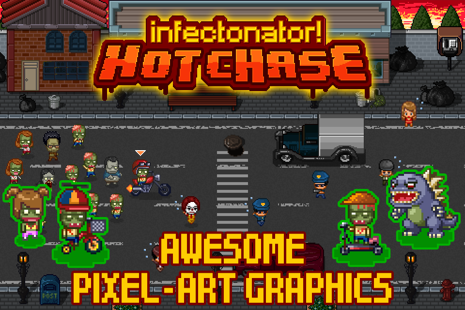 Infectonator Hot Chase- screenshot
