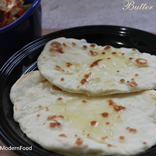 Butter Naan – No Yeast