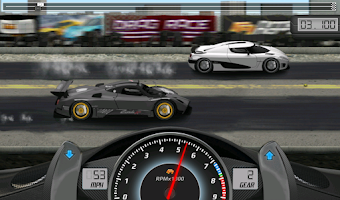 Screenshot of Drag Racing