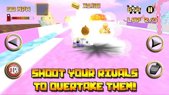 Kartoon Crazy Racing - screenshot thumbnail