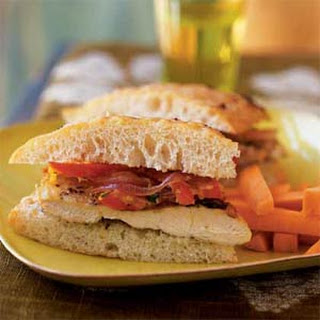 Chicken Focaccia Sandwich Recipes.