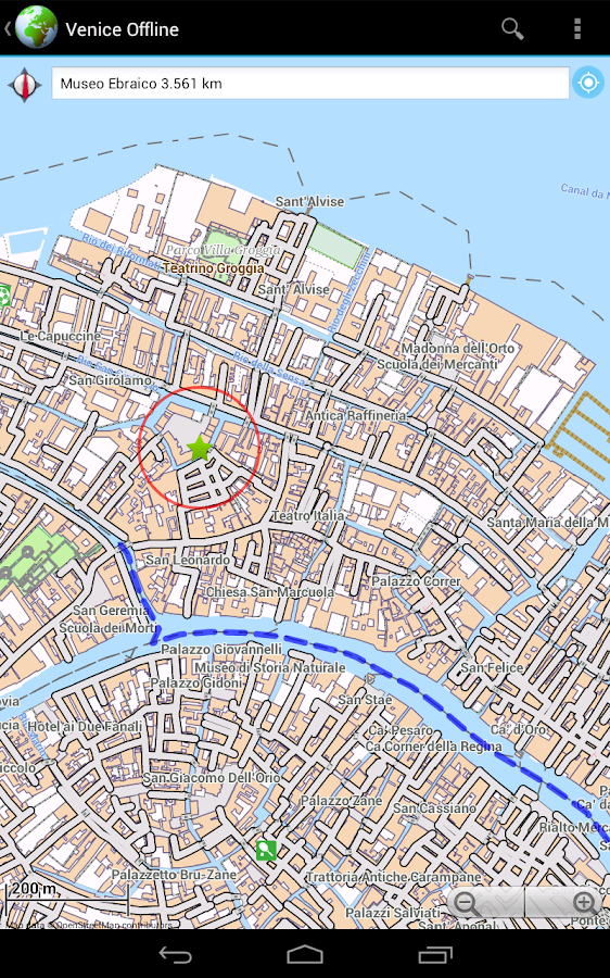 Offline Map Venice Italy Android Apps On Google Play - Venice city map